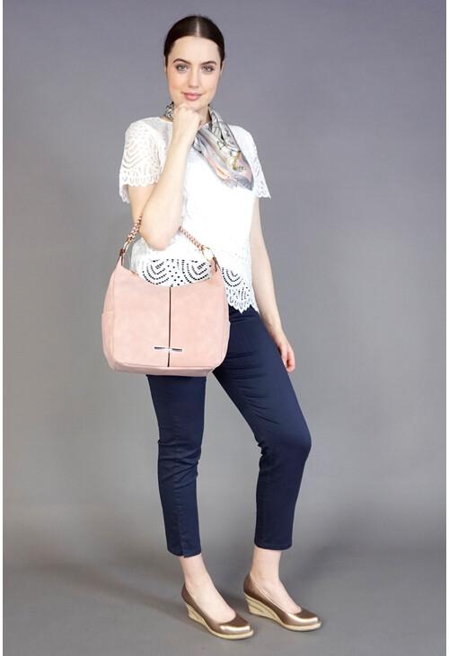 Hampton Rose Hobo Handbag