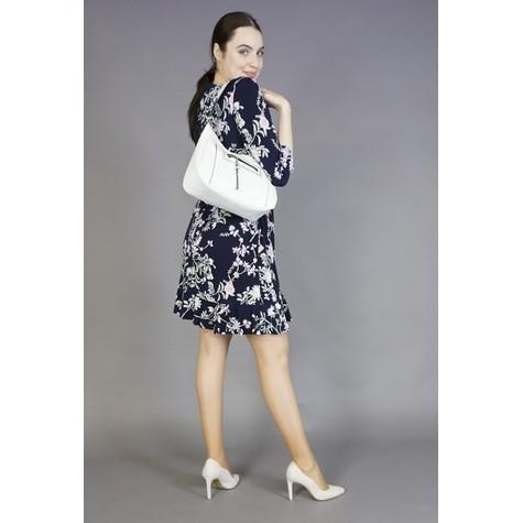 Gionni White Accessory Hobo Bag
