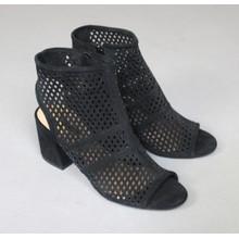 Bellucci Black Cage Heels