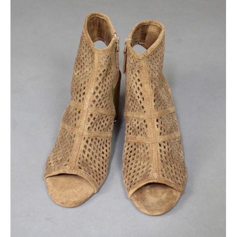 Bellucci Camel Cage Heels