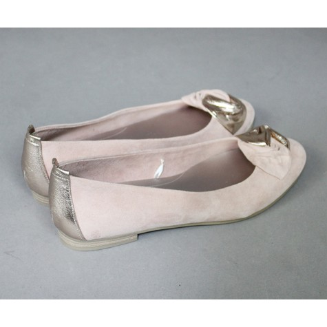 Marco Tozzi Rose Ribbon Slip On Flats