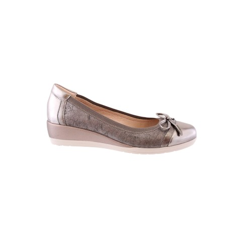 Susst Pewter Low Wedge