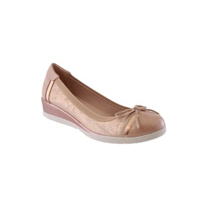 Susst Champagne Low Wedge