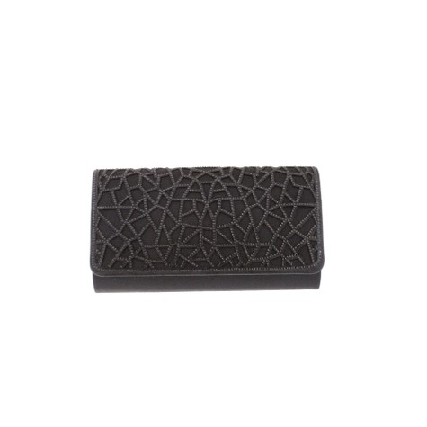 Barino Black Clutch Bag