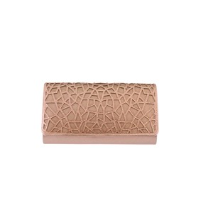 Barino Rose Gold Clutch Bag