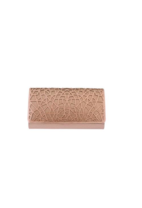 Barino Rose Gold Clutch Bag