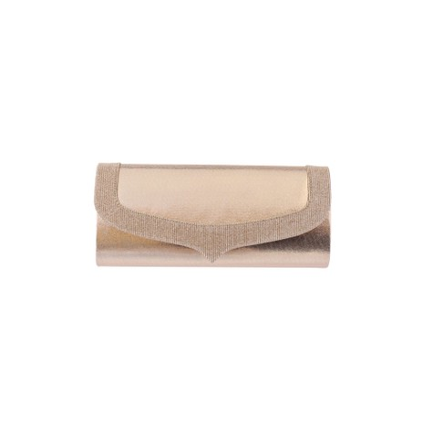 Barino Gold Shimmer Detail Clutch Bag