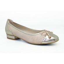 Lunar Gold Pump Toe Cap Style Shoe