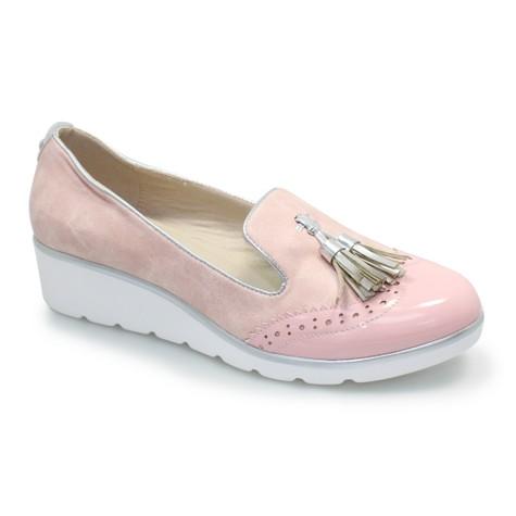 Lunar Pink Tassel Front Casual Shoe
