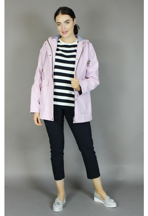 Independent C Pink Hooded Rain Coat