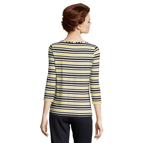 Betty Barclay Dark Blue/Yellow Strip Top