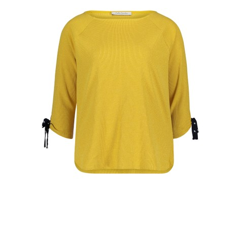 Betty Barclay Super Lemon Sweatshirt Bateau Neckline