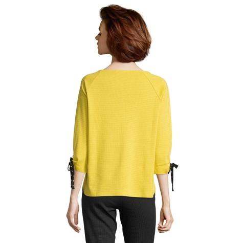 Betty Barclay Super Lemon Sweatshirt Bateau Neckline