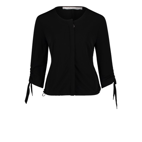 Betty Barclay Zip & Ribbon Detail Top