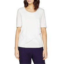 Gerry Weber White Cross Pattern Top