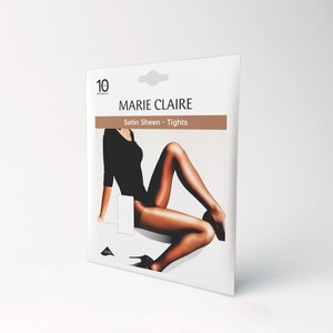 Marie Claire 10 Den Satin Sheen Barely Black