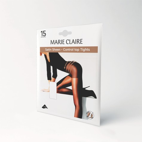 Marie Claire Natural 15 Den Control Top Tights