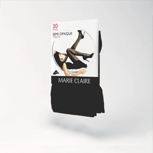 Marie Claire Black 30 Den Semi Opaque Tights