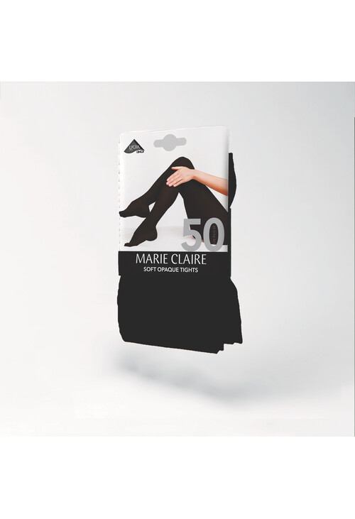 Marie Claire Black 50 Den Opaque Tights