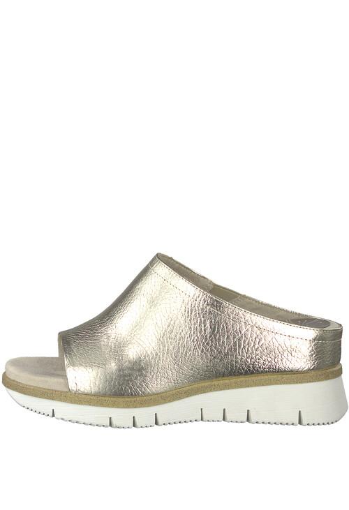 Marco Tozzi Gold Comfort Fit Slider
