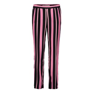 Betty Barclay Black/Rosé Strip Slip On Trousers