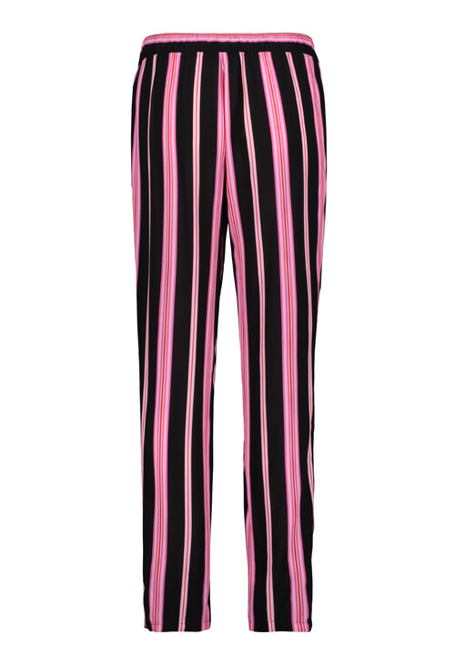 Betty Barclay Black/Rosé Stripe Slip On Trousers