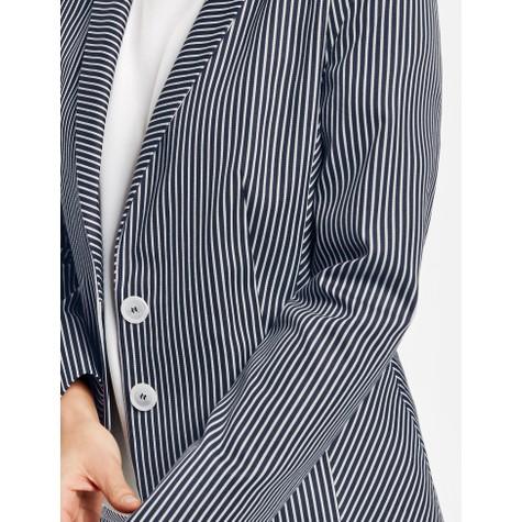 Gerry Weber Blue / Ecru / White stripes Blazer