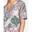 Gerry Weber Purple / Pink / Green Print Paisley Print Dress