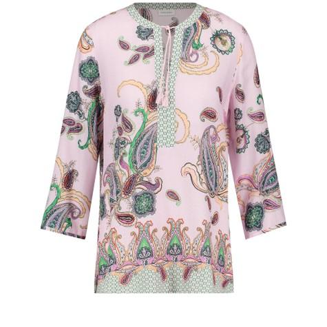 Gerry Weber Purple / Pink / Green Print Paisley Print Tunic