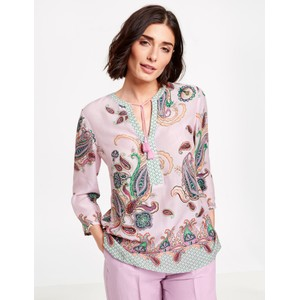 Gerry Weber Purple / Pink / Green Print Paisley Print Tunic