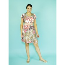 SophieB Multi-Colour V-Neck Print Dress*