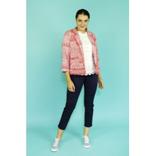 EFRO Coral & Pink Chanel Style Jacket