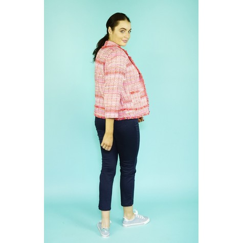 EFRO Coral & Pink Jacket