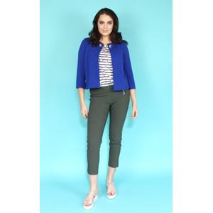 Zapara Blue Crop Jacket