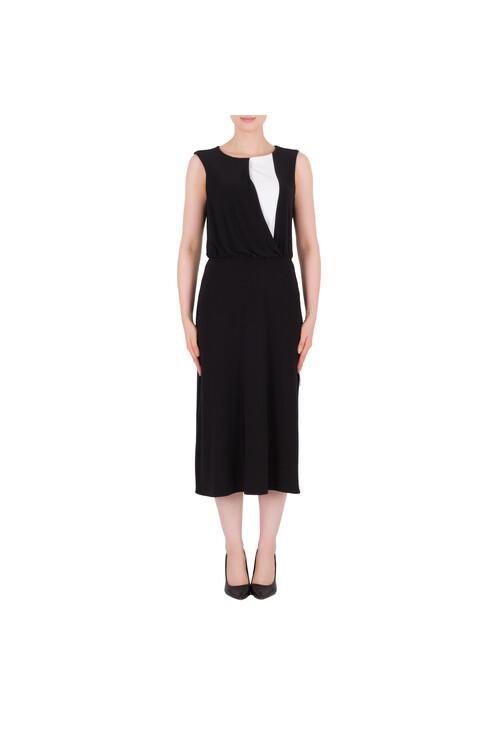 Joseph Ribkoff Black & White Classic Long Dress
