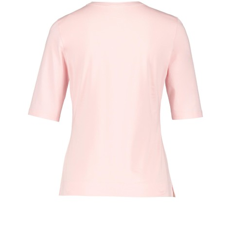 Gerry Weber Rose Lurex Seam V-Neck Top