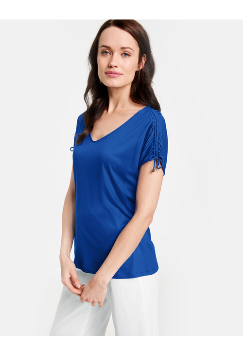 Gerry Weber Ocean Blue Shirt with ties