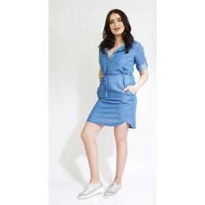 Twist Fine Blue Light Denim Dress