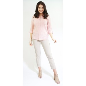 Twist Sorbet Linen Feel Summer Shirt