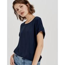 Opus Simply Blue Oversized Shirt Skita