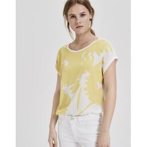 Opus Mellow Yellow Shirt Saflori Print