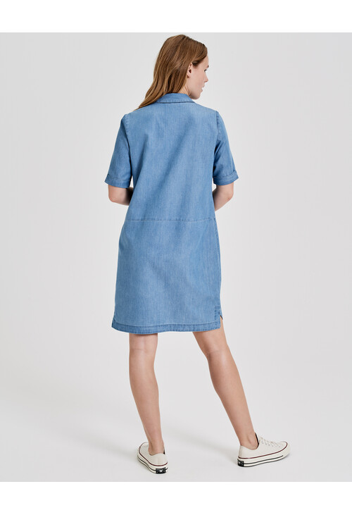 Opus Denim Dress Willmari Tencel