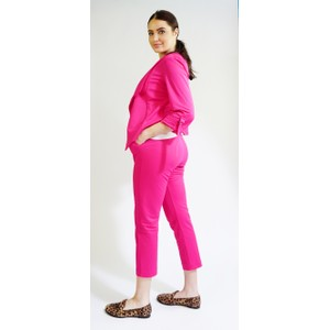 SophieB Fushia Buckle Detail Trousers