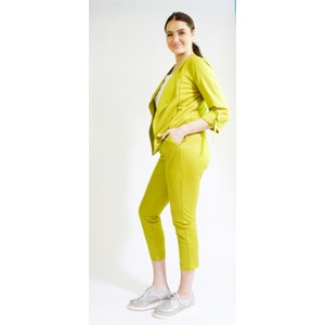 SophieB Pistachio Buckle Detail Trousers