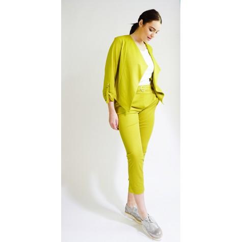 SophieB Pistachio Buckle Detail Trousers
