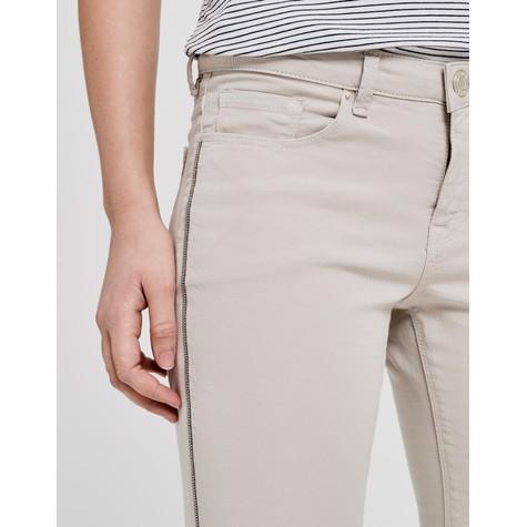 Opus Oatmeal Jeans Elma 7/8 glitter