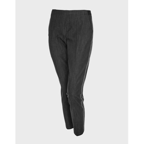 Opus Cigarette trousers Edira black tape