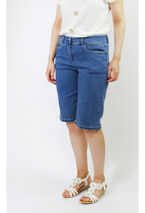 Twist Basic Denim Shorts