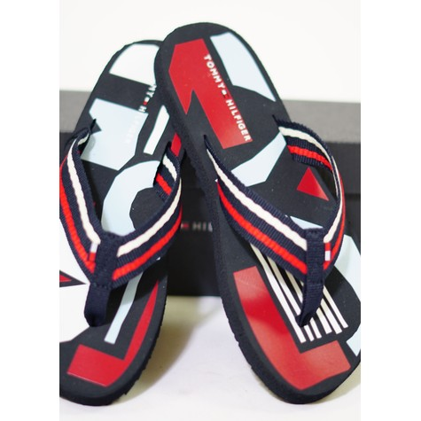 Tommy Hilfiger RWB Happy Print Beach Sandal