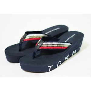 Tommy Hilfiger RWB Iconic Wedge Beach Sandal